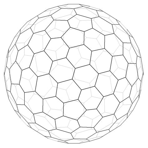 Sphere Net Template by Math Nets Of Geodesic Spheres Stack Overflow