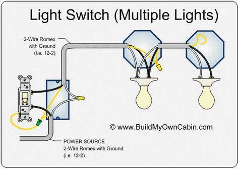 How Wire Switch With Multiple Lights Light