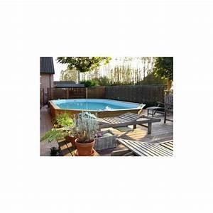 gardipool oblong 460 x 810 x 146 margelle pin piscine With amenagement de jardin avec piscine 8 kit berlinoise pin cl4 piscine et bois