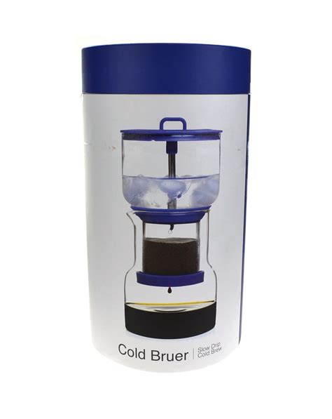 The atmos aims to simplify cold drip espresso for armchair coffee. COLD BRUER SLOW DRIP COFFEE MAKER - Bruer