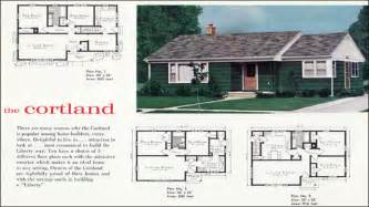 1960s House Plans by 1940s Ranch Style Houses 1960s Ranch Style House Floor