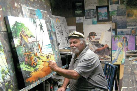 wheres woody popular kona artist continues painting