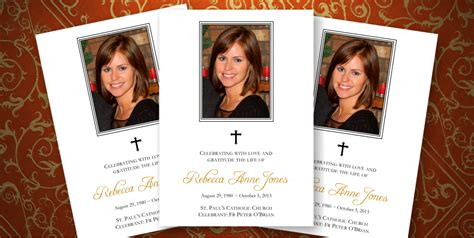 memorial funeral stationery