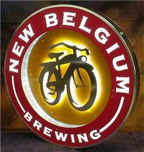 New Belgium Brewery Bamboo LED Neon Bar Sign Beer Light