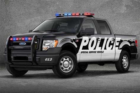The 2013 Ford F150 in a Police Uniform   North Brothers