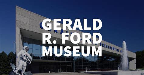 Gerald R Ford Museum by Gerald R Ford Museum Grand Rapids House Properties