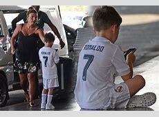 Wayne Rooney's son Kai pictured wearing full Real Madrid