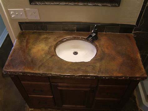 Ideas For Bathroom Countertops by Best 10 Concrete Countertops Bathroom Ideas On