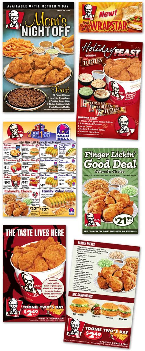 14283 Food Coupons By Mail by 17 Best Images About Kfc On Muscular