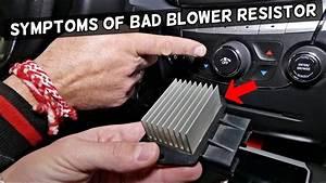 Symptoms Of A Bad Blower Fan Motor Resistor