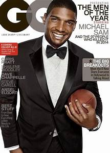 Michael Sam Covers GQ Men of the Year Issue