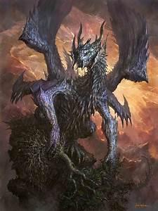 327 best Dark Dragons images on Pinterest | Dragon art ...