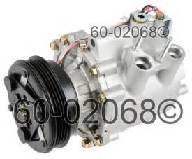Honda Civic Hybrid 03 C Compressor W