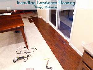 Gorgeous laying down laminate flooring how to install a for How to lay down laminate flooring