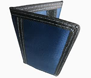 All the information on this website is gathered from the. Amazon.com: Tri-fold Nylon Wallet with Velcro, Credit Card Slots, ID Window, Slim and Strong ...