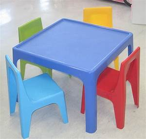 56 Chair Table Set For Kids, Kids Table And Chair Set From
