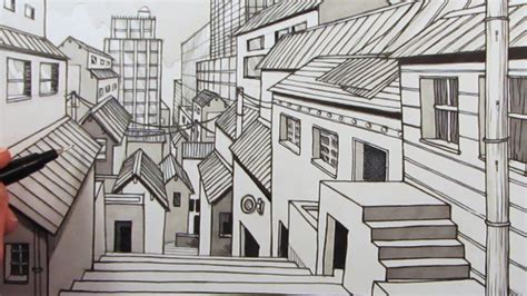 2-Point Perspective Drawing