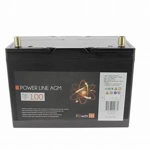 Batterie Agm Camping Car : power line gamme agm 100 ah batterie 12 v camping car ~ Medecine-chirurgie-esthetiques.com Avis de Voitures