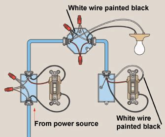 wire   light switches