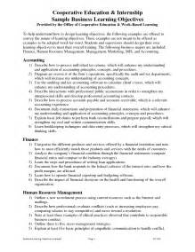 objective for an internship resume internship resume objective exles resume template 2017