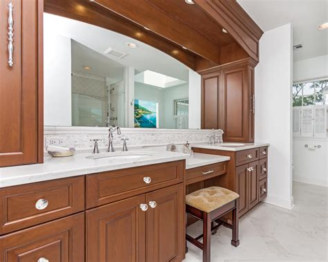 custom bathroom vanities with makeup area entrancing 10 custom bathroom vanities design