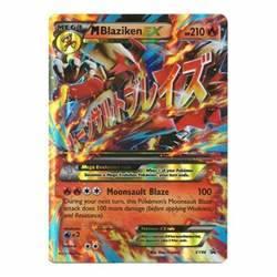 pokemon mega blaziken ex premium collection p