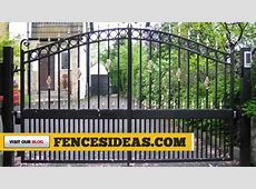 IRON GATE DESIGN IDEAS How to make wrought iron gates