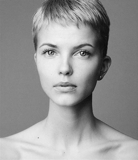 Cropped Pixie Hairstyle by Pixie Haircut Hairstyles 2016 2017 Most