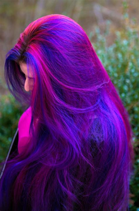 17 Best Ideas About Blue And Pink Hair On Pinterest