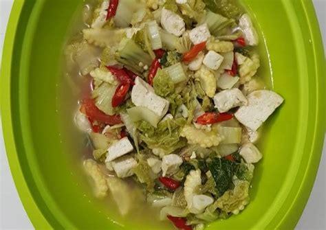 Cara membuat oseng sawi putih jagung manis 2. Sawi Putih Jagung : Kiat Kiat Memasak Tumis Sawi Putih Jagung Nikmat Resep Us