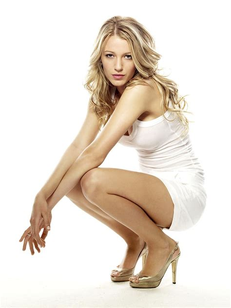 Blakelively The Idea Girl Says Sexy White Dress Gold High Heels The Idea Girl Says Word Press