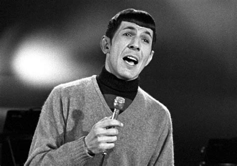 leonard nimoy autobiography the short strange music career of leonard nimoy stereogum