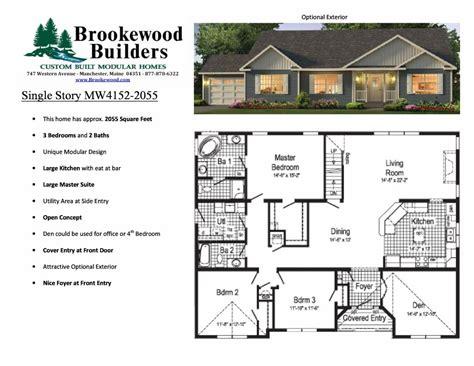 elegant large modular home floor plans  home plans design