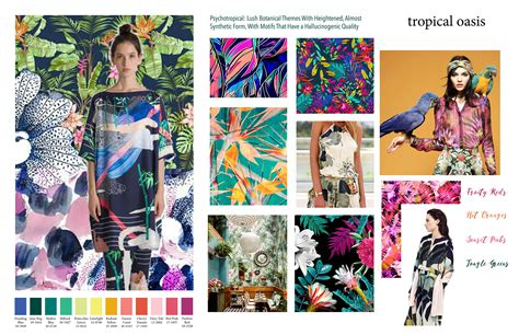 2018 Trends Something Borrowed And Plenty That Is New: Spring Summer 2018 Trends On Behance
