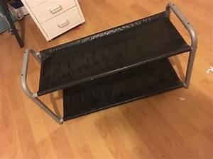Schuhregal Schwarz Metall : schuhregal metall neu und gebraucht kaufen bei ~ Indierocktalk.com Haus und Dekorationen