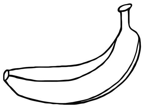 banana template banana template clipart best