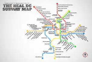 Light Up Arlington by Thrillist Just Created The Most Accurate D C Metro Map