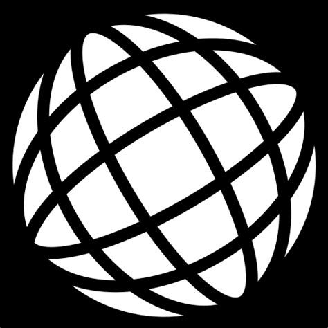 Mesh ball icon | Game-icons.net