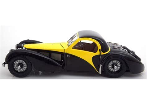 Bugatti 57 sc atalante rouge 1/12 bauer. Bugatti Type 57SC Atalante 1937 yellow / black 1:12 Bauer 7828-Z75Y