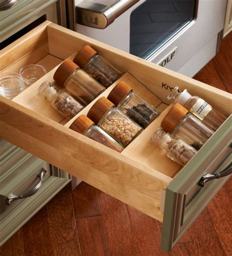 functional kitchen cabinet  drawer storage ideas