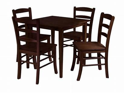 Table Chairs Clipart Kitchen Dining Square Clipartpanda