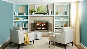 Easy Fireplace & Mantel Makeover: Brick-to-Tile Design