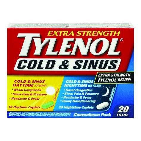 Tylenol Cold And Sinus
