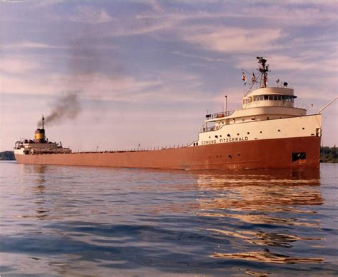 when did the edmund fitzgerald ship sank today in labor history november 10th voices of labor