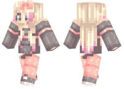 cute girl skin  minecraft pe  mcpe box