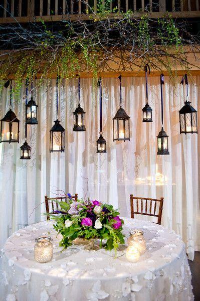 heavenly hanging decor wedding ceremony backdrop