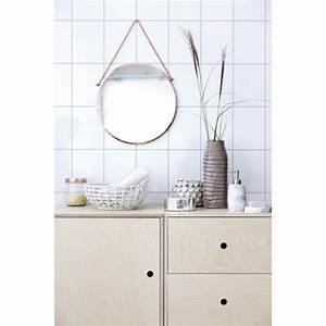 Miroir Cuivre Rose : miroir vintage rond en cuivre house doctor bolina ~ Melissatoandfro.com Idées de Décoration