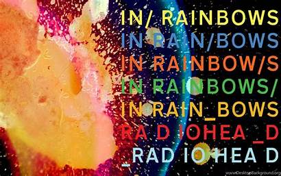 Radiohead Rainbows Desktop Background Wallpapers