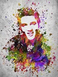 Elvis Presley In Color Digital Art by Aged Pixel