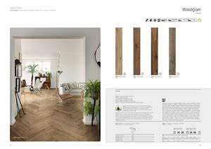Pavimento in gres porcellanato effetto legno WOODGLAM Ragno